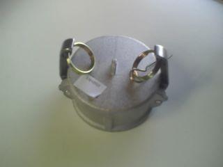 Camlok Cap Lockable Arms 150mm - Al