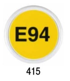 Nozzle Slogan Badge - E94 (415)