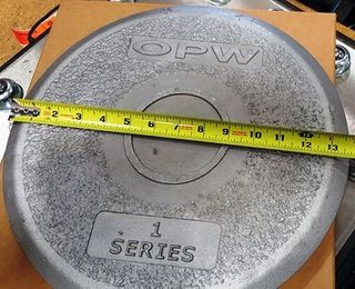 Opw Series 1 Spill Container Lid - Al