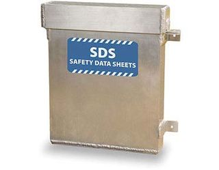 Sds Document Holder- Aluminium