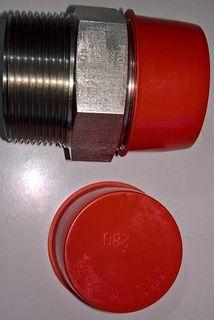 "Hex Nipple 11/2"" (40mm) - S/s 3000 Npt"