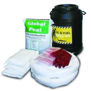 Oil & Fuel Spill Kit - Barell  (75 L)