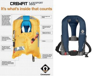 Life Jacket Crew04 - Automatic/no Harnes