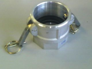 """Camlock D - Coupler (6"""" - 150mm) - Al"""