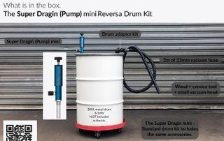 Super Dragin Mini - Suction/discharge