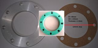 Gasket    T T M A   Flange Style (3in)