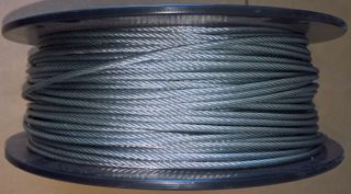 Earth Cable (4mm Od) - Gal Exposed