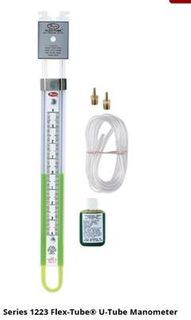 Manometer - U Tube 2000-0-200mm W.c