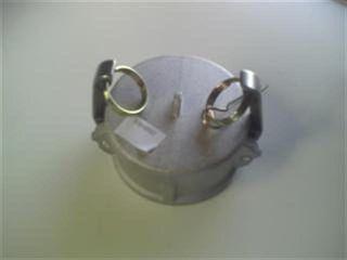 "Camlock Dust Cap 3"" - 80mm Al"