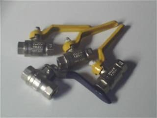 "Ball Valve F F (1/4"" 6mm) - Lever"