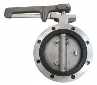 Butterfly Valve 80mm (viton)