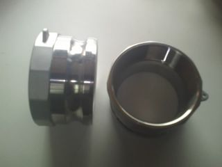 "Camlock A - Adaptor (3"" - 80mm) (s/s)"