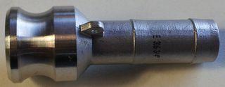 "Camlock E - Adaptor (1.5"" - 38mm) -s/s"