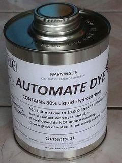 Fuel Dye (red) 1 L