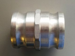Camlock - Adaptor  A A  M3in X M3in Al