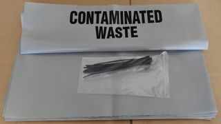 Contaminated Waste Bags & Ties (10pk)