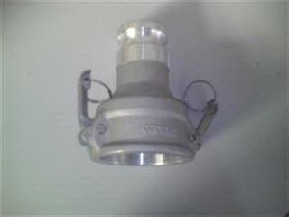 Camlock - Adaptor D A F6in X M3in Al