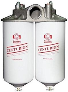 Cim-tek Centurion Dbl Filter Head 1.5""
