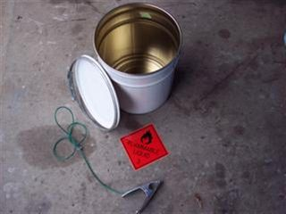 Static Earthing Bucket 20l (closed Assy)