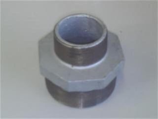"Reducing Nipple 3""x2.5"" (80x65mm) - Gal."