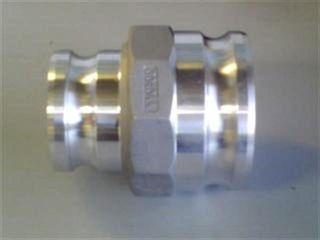 Camlock - Adaptor  A A  M3in X M4in Al