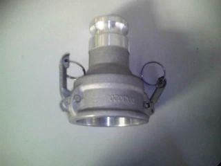 Camlock - Adaptor D A F2.5in X M2in Al