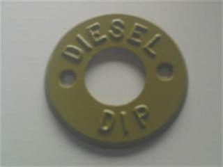 Dip Marker - Diesel (tan) - Metal
