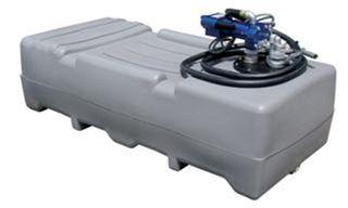 Tank/pump.1000l -auto Nozzle -12v (poly)