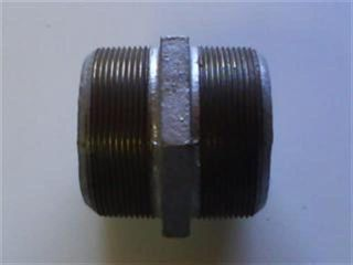 "Hex Nipple 2.5"" (65mm) - Galv"