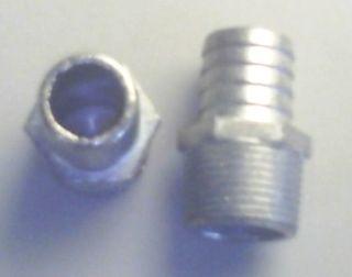 F / T Hose Tail Diecast (zinc) - 25mm
