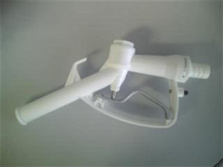 Nozzle - Plastic (white) 1in Hosetail
