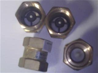 "Check Valve (1.25"" 32mm) Brass - Viton"