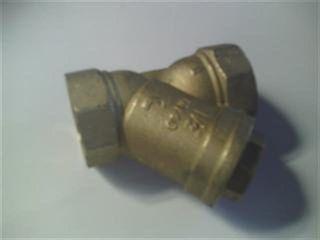 Strainer Y Type 40mm - Brass