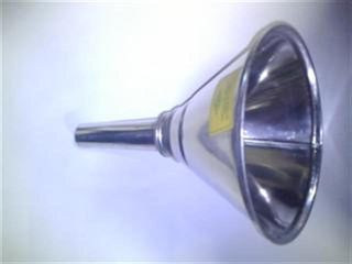 "Tin Plate Funnel 10"" (254mm) Straight"