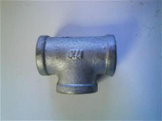 "Tee 3/4"" (19mm) - Galvanised"