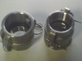 "Camlock D - Coupler (1.25"" - 32mm) -s/s"