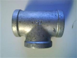 "Tee 1.25"" (32mm) - Galvanised"