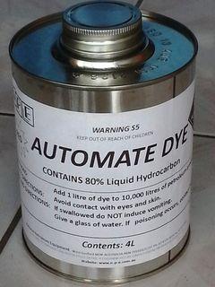Fuel Dye (red) 4 L
