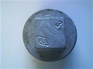 """Plug 3"""" (80mm) Galvanised"""