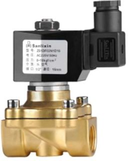 "Solenoid Valve (1"" 24v) N Closed"