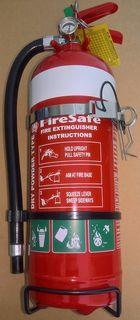 Fire Extinguisher 2kg - Dry Powder