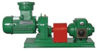 Rotary Vane Pump - 2in & Electric Motor