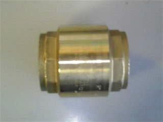 "Europa Spring Check Vlv (2.5"" - 65mm) Br"