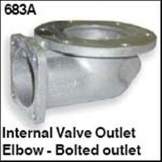 Outlet Elbow Standard 100mm