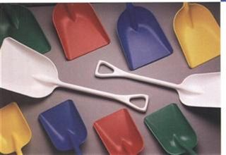 "Plastic Shovels (11"" Wide) - Yellow"