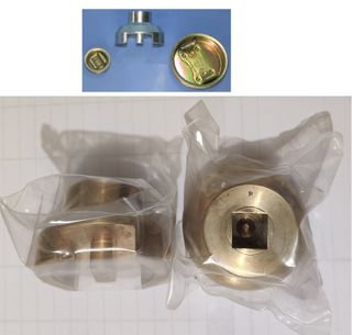 Drum Plug Socket - Bronze