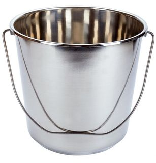 Stainless Steel Bucket 16l Non-graduated