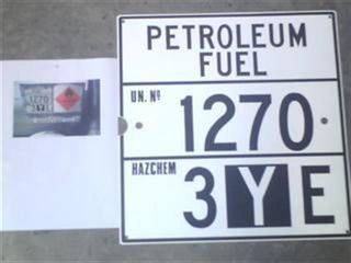 Emerg. Advice Panel (petrol. Fuel 1270)