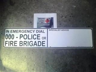 Emerg. Advice Panel (emergency Dial 000)