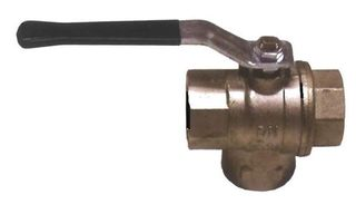 "Ball Valve L Type (1/4"" 10mm) - B E"
